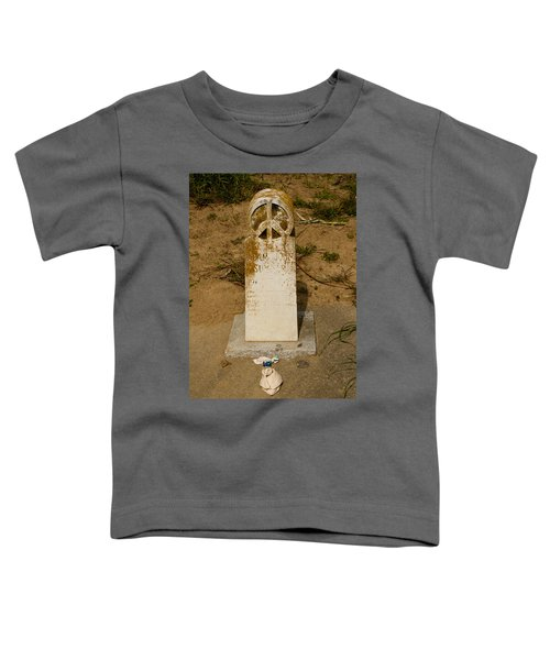 Bodega Bay Cemetery Toddler T-Shirt