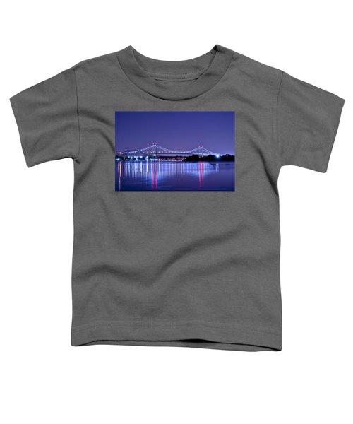 Tri-borough Bridge In Nyc Toddler T-Shirt