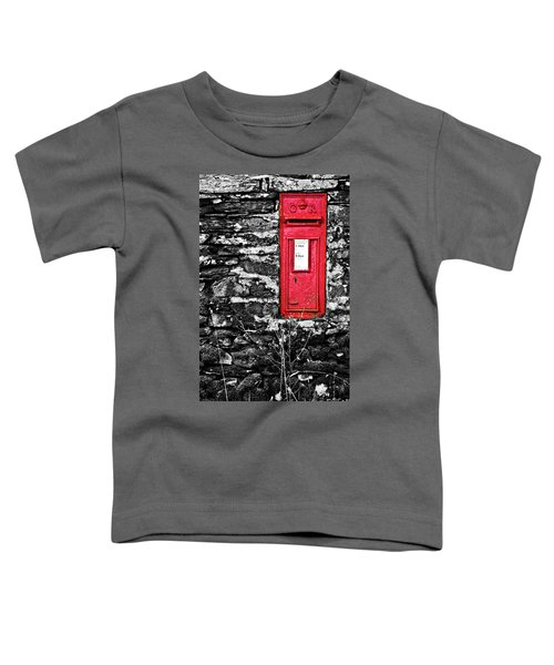 British Red Post Box Toddler T-Shirt