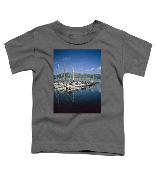 Carlingford Yacht Marina, Co Louth Toddler T-Shirt