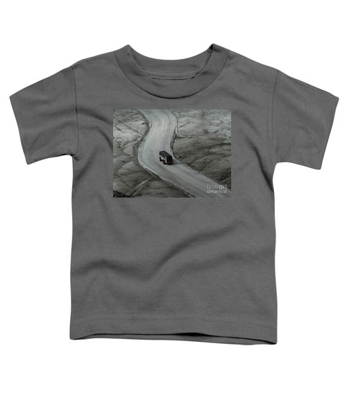 Columbia Icefield Glacier Adventure Toddler T-Shirt