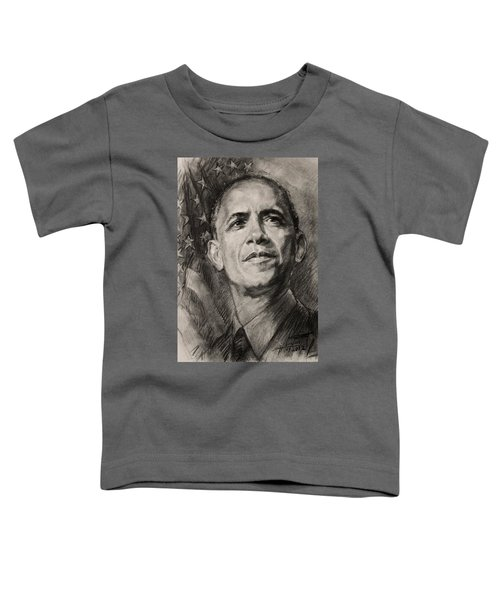 Commander-in-chief Toddler T-Shirt by Ylli Haruni
