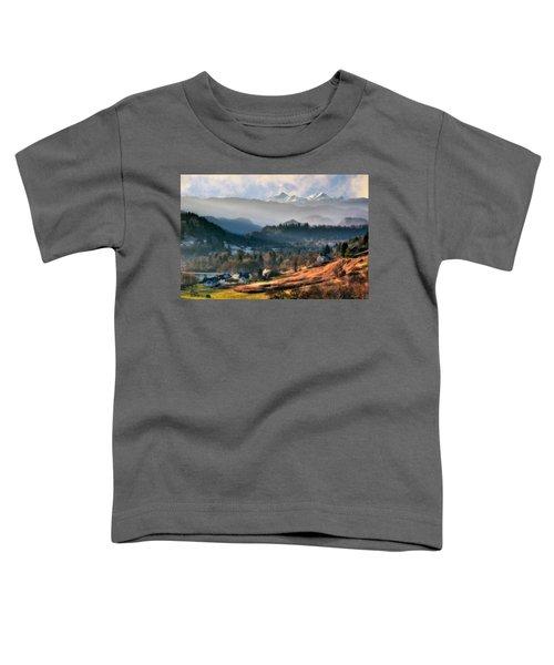 Countryside. Slovenia Toddler T-Shirt