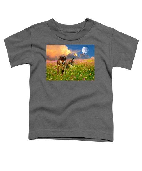 Cry At The Moon Toddler T-Shirt