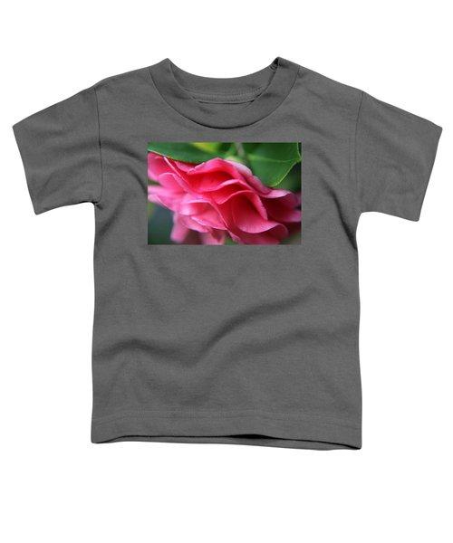 Dancing Petals Of The Camellia Toddler T-Shirt