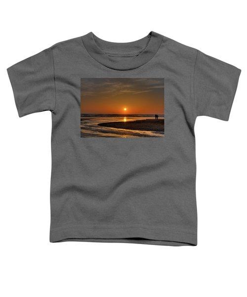 Enjoying The Sunset Toddler T-Shirt