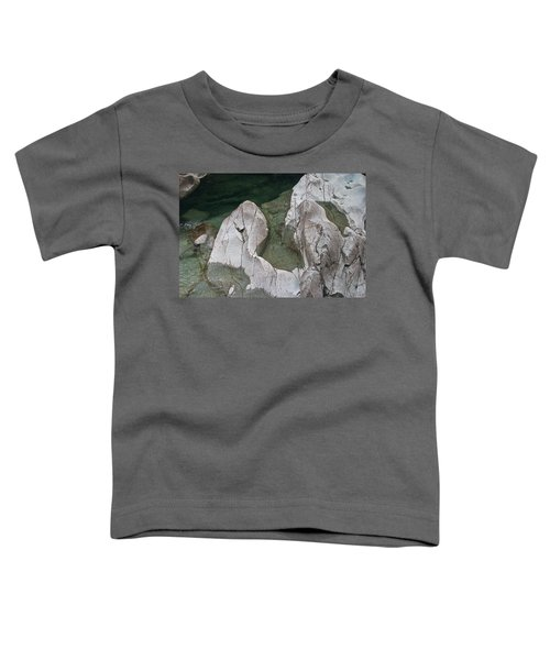 Etched Rock Water 5 Toddler T-Shirt