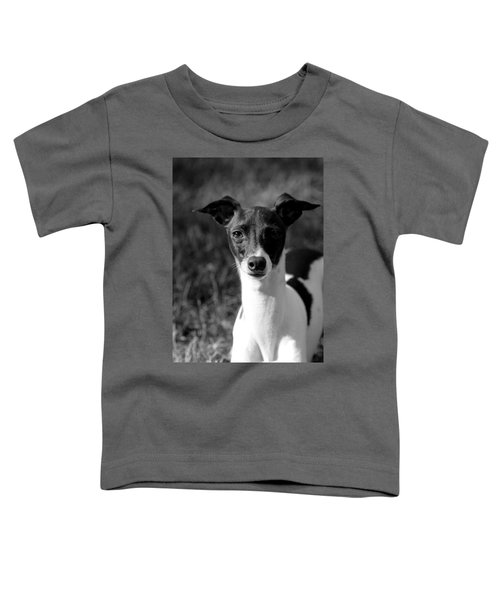 Ethan In Black And White Toddler T-Shirt