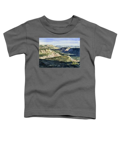 Evening Flight Over Palo Duro Canyon Toddler T-Shirt