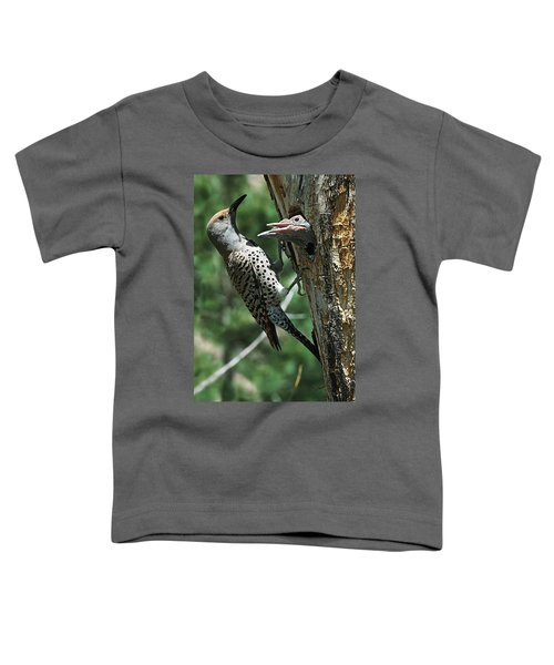 Female Northern Flicker Colaptes Toddler T-Shirt