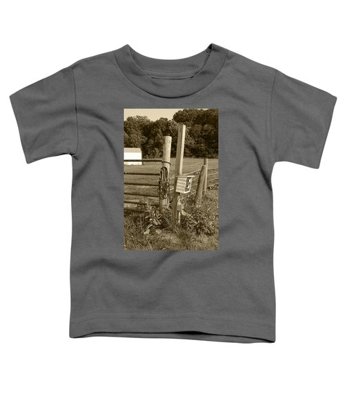 Fence Post Toddler T-Shirt