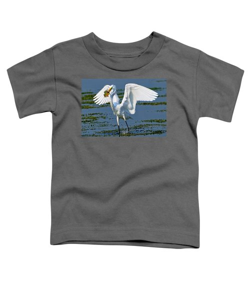 Fish'n In The Morning Toddler T-Shirt
