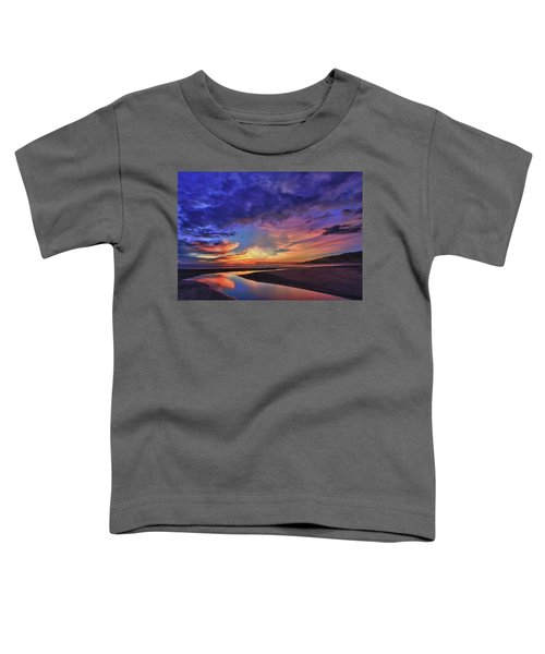 Flowing Out To The Ocean Toddler T-Shirt
