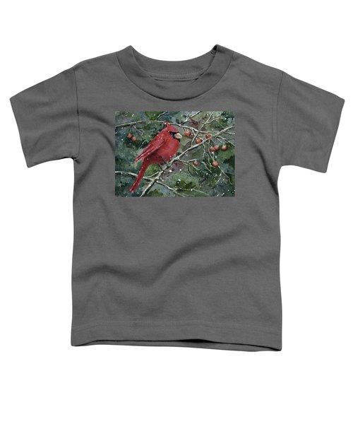 Franci's Cardinal Toddler T-Shirt