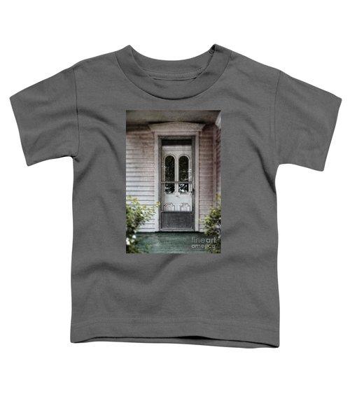 Front Door Of Vintage House Toddler T-Shirt