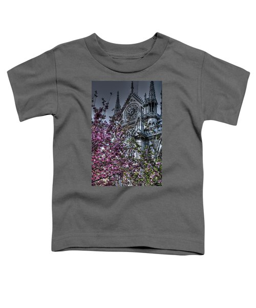 Gothic Paris Toddler T-Shirt