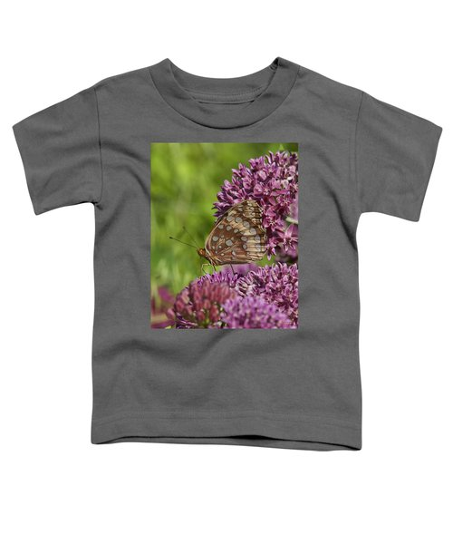 Great Spangled Fritillary Din194 Toddler T-Shirt