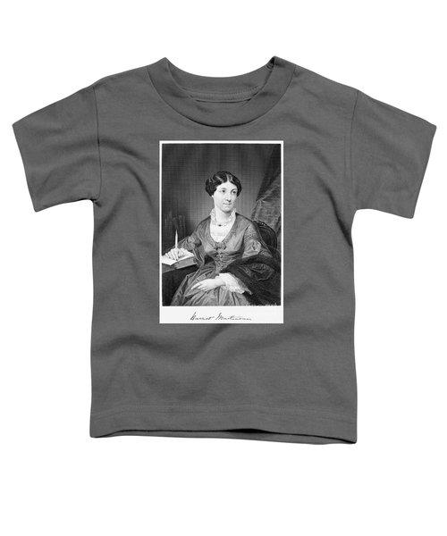 Harriet Martineau Toddler T-Shirt