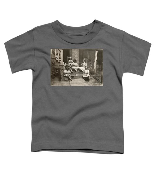 Hine: Home Industry, 1912 Toddler T-Shirt