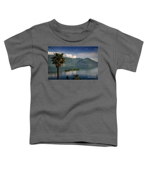 Islands On An Alpine Lake Toddler T-Shirt