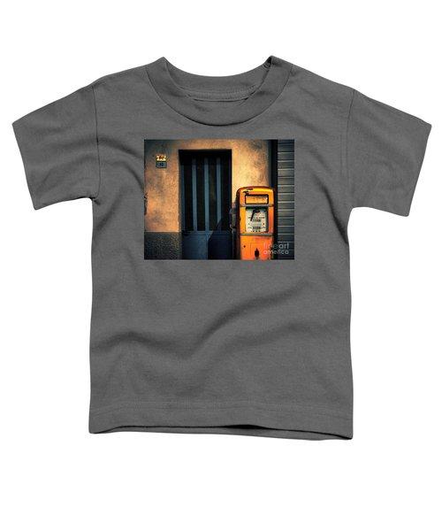 Italian Gasoline Toddler T-Shirt