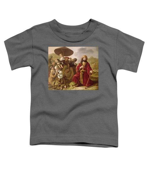 Jacob Seeking Forgiveness Of Esau Toddler T-Shirt