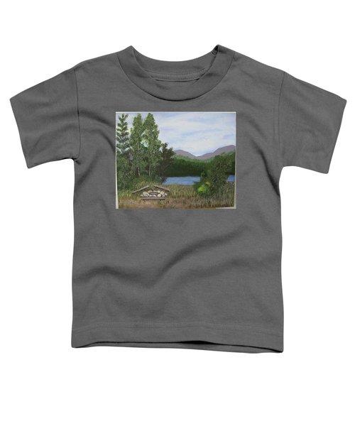 Kootenay Lake Bc Toddler T-Shirt