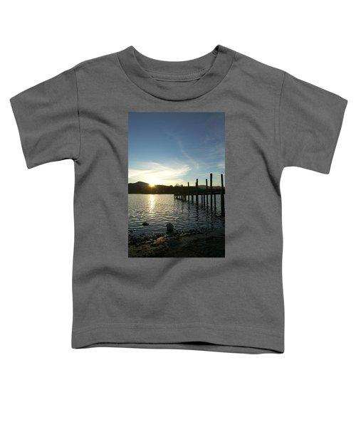 Lake District Sunset Toddler T-Shirt