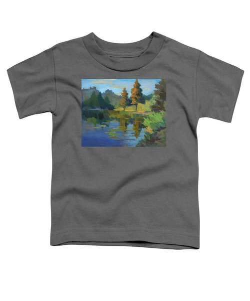 Late Afternoon Light At Harry's Pond Toddler T-Shirt