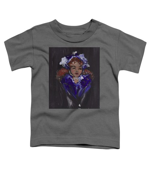 Lil Girl Blue Toddler T-Shirt