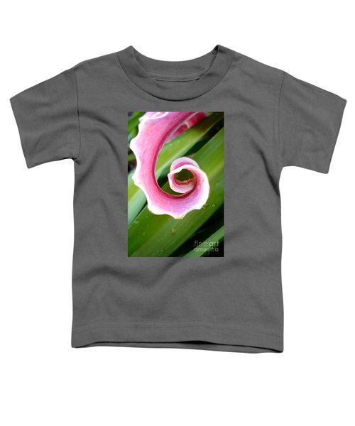 Lily Spiral Toddler T-Shirt