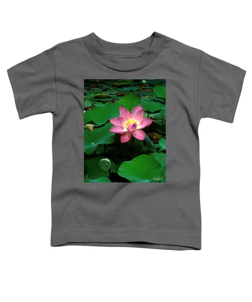 Lotus Flower And Capsule 24a Toddler T-Shirt