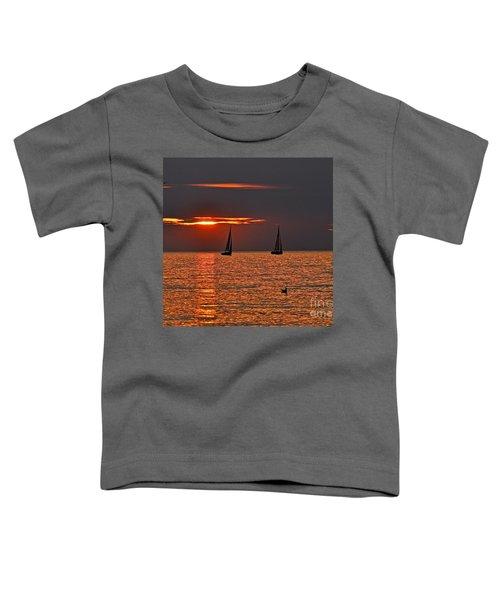 Coral Maritime Dream Toddler T-Shirt