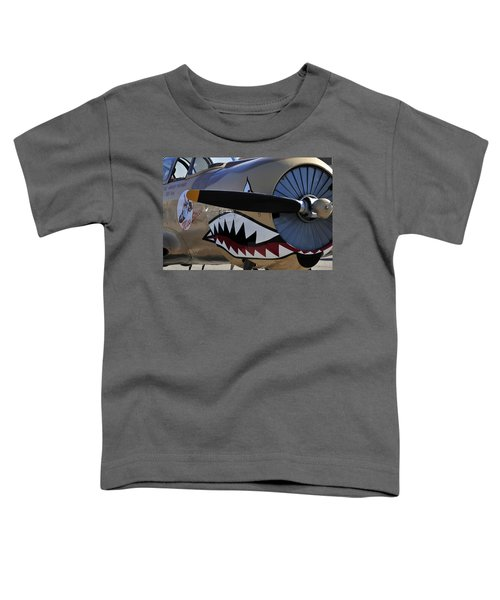 Mean Machine Toddler T-Shirt by David Lee Thompson