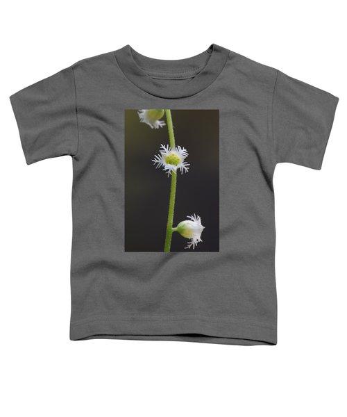 Miterwort Flowers Toddler T-Shirt