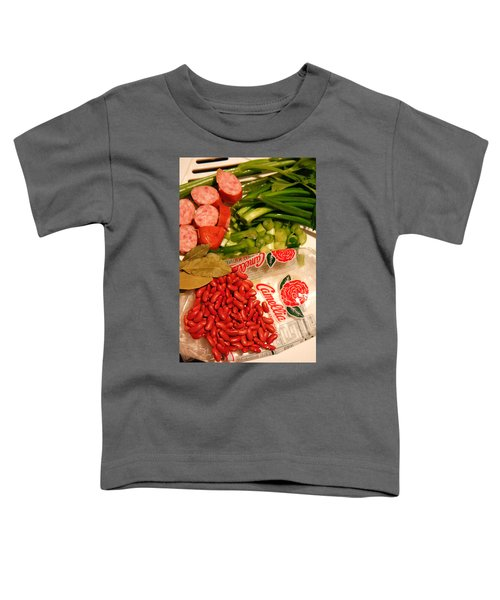 New Orleans' Red Beans And Rice Toddler T-Shirt