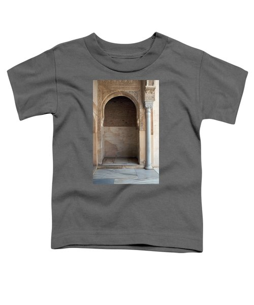 Ornate Arch And Pillar Toddler T-Shirt