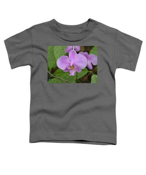 Pale Pink Orchid Toddler T-Shirt