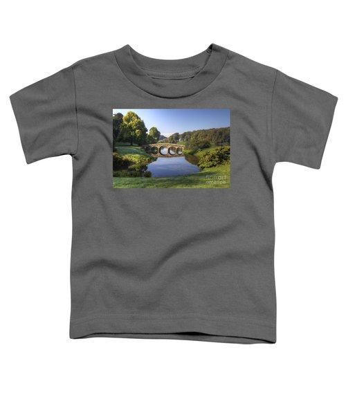 Palladian Bridge At Stourhead. Toddler T-Shirt