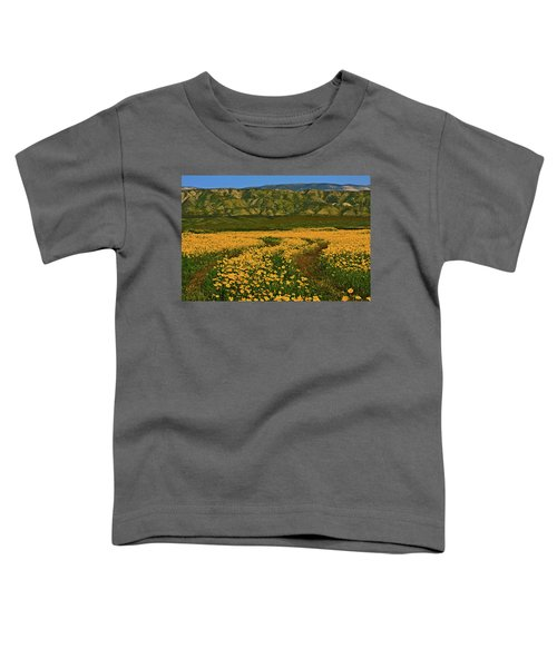 Path Through The Wildflowers Toddler T-Shirt