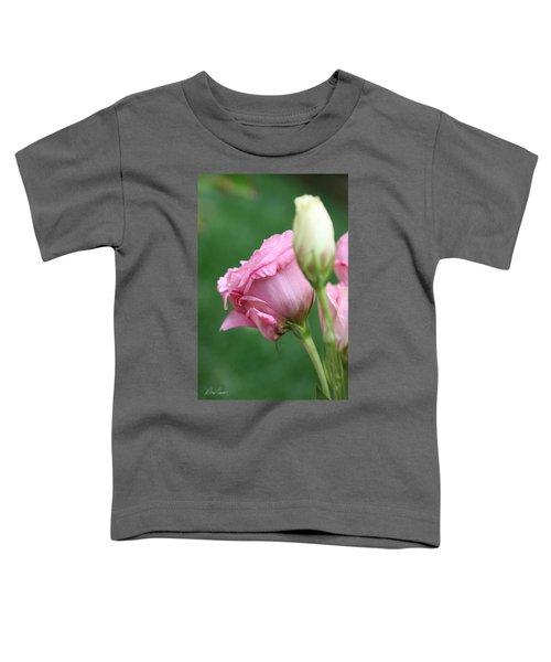 Pink Lisianthus Toddler T-Shirt