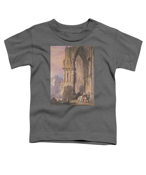 Porch Of Regensburg Cathedral Toddler T-Shirt