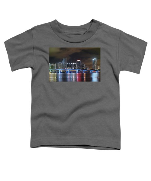 Port Of Miami Downtown Toddler T-Shirt