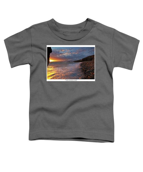 Porth Swtan Cove Toddler T-Shirt