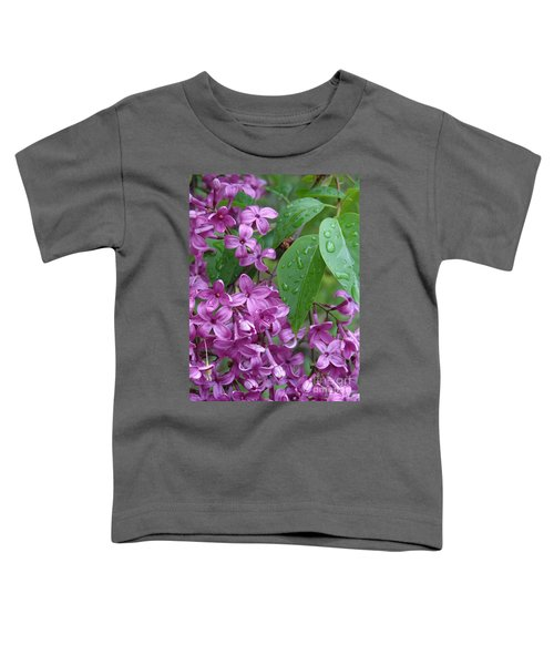 Purple Lilac Toddler T-Shirt