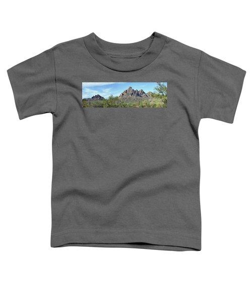 Ragged Top Mountain Panorama Toddler T-Shirt