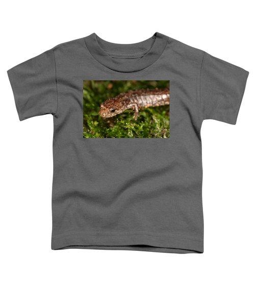 Red-backed Salamander Toddler T-Shirt by Ted Kinsman