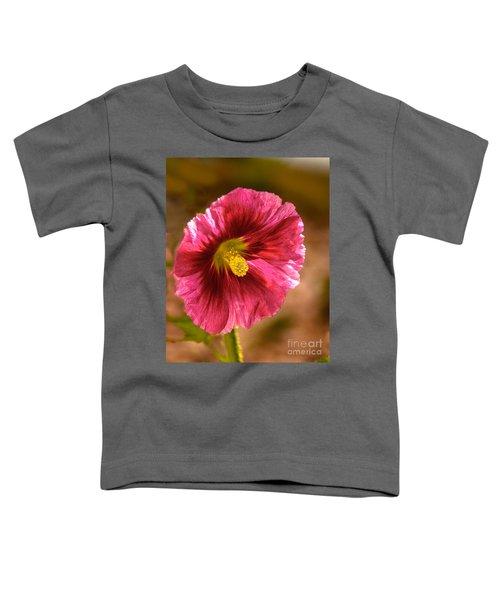 Red Hollyhock Toddler T-Shirt