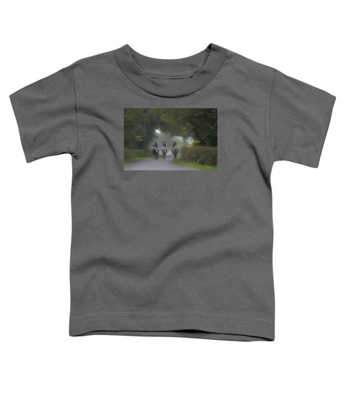 Riding In Tandem Toddler T-Shirt