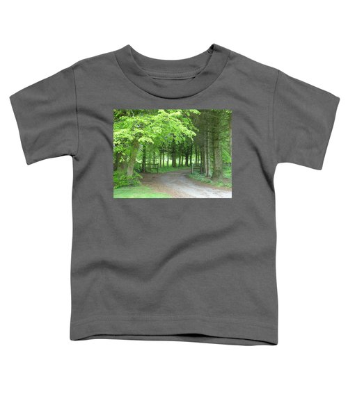 Road Into The Woods Toddler T-Shirt